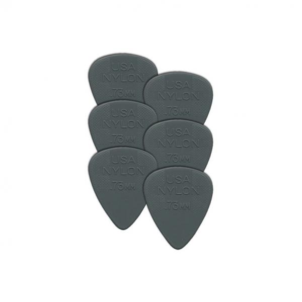 Dunlop Nylon 0.73 mm. Plektre - 10stk. pakke