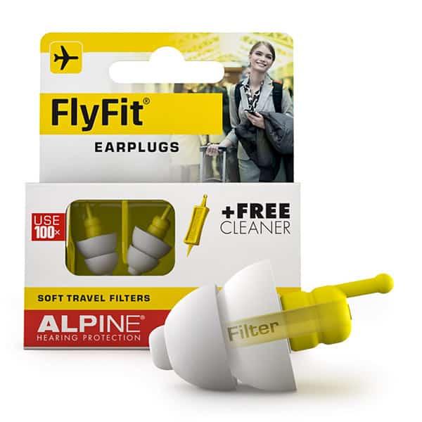 Billede af Alpine Flyfit Minigrip - Ørepropper til flyveturen