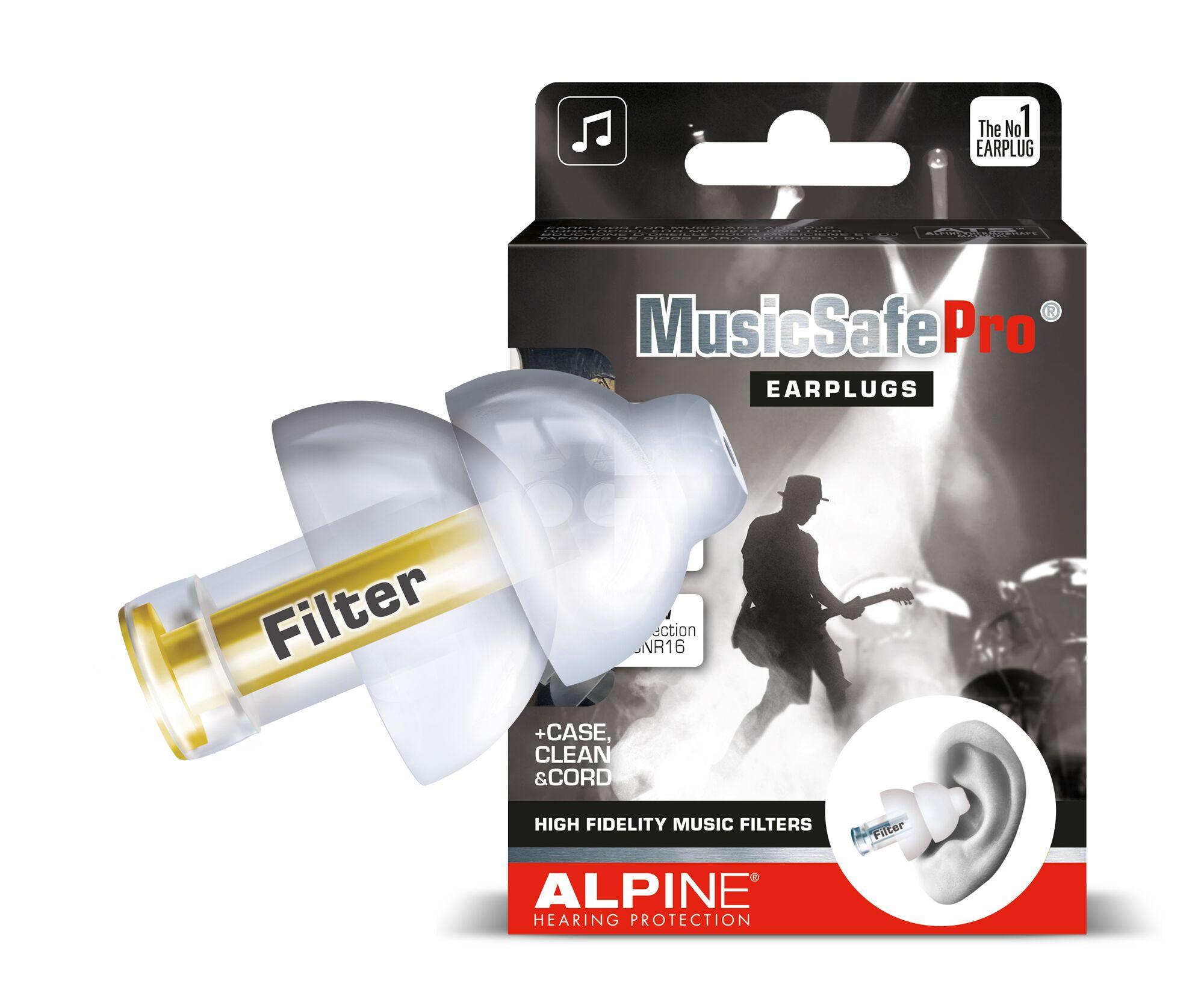 Billede af Alpine Musicsafe Pro Ørepropper - transparent