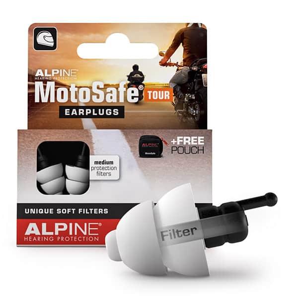 Billede af Alpine MotoSafe Tour Minigrip - Motorcykel Ørepropper