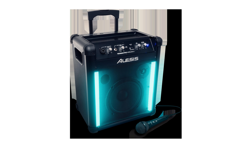 Alesis TransActive Wireless II Aktiv højttaler med batteri, Bluetooth og discolys
