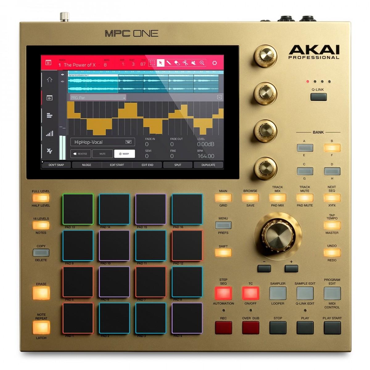 Akai MPC One - Gold Edition