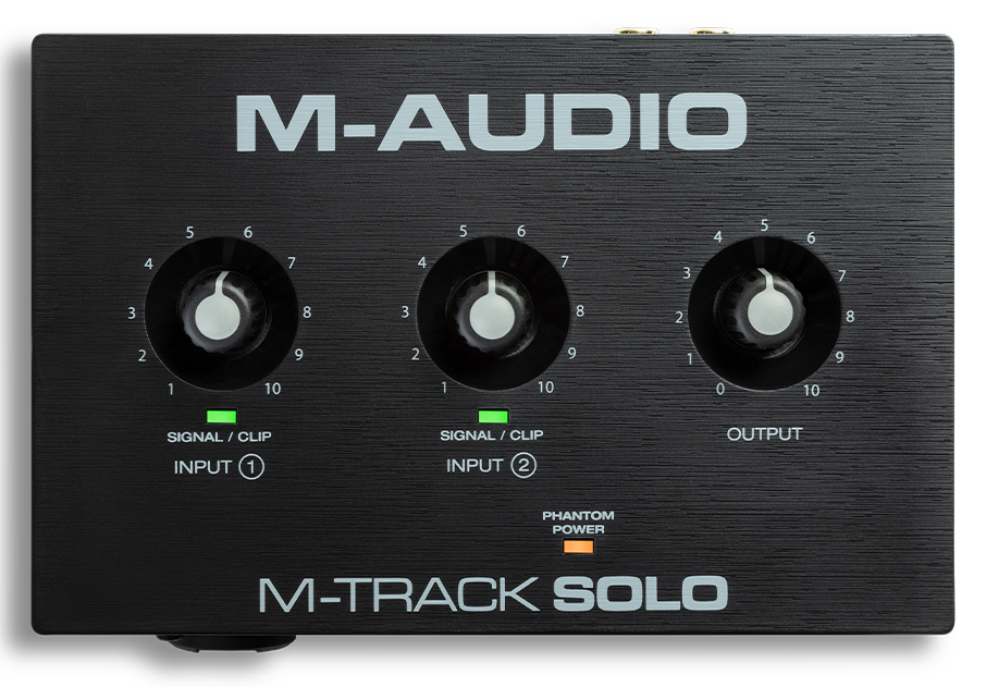 M-Audio M-TRACK SOLO - USB Lydkort