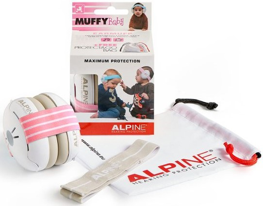 Billede af Alpine Muffy Baby - Høreværn til baby (0-3år) - Pink