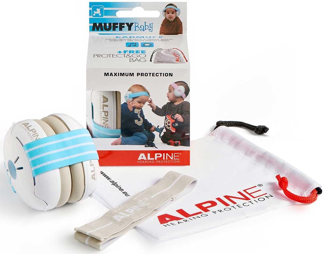 Billede af Alpine Muffy Baby - Høreværn til baby (0-3år) - Blå