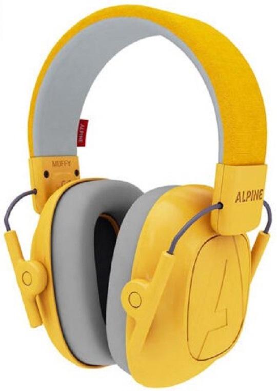 Billede af Alpine Muffy Kids - Høreværn til børn - Gul