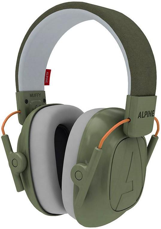 Billede af Alpine Muffy Kids - Høreværn til børn - Grøn