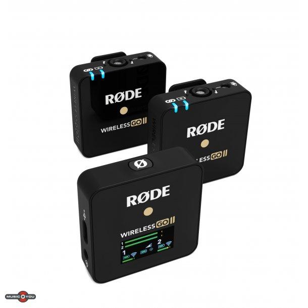 Røde Wireless GO II  - Sort